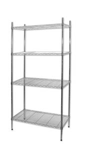 4 Shelf Wire Shelving